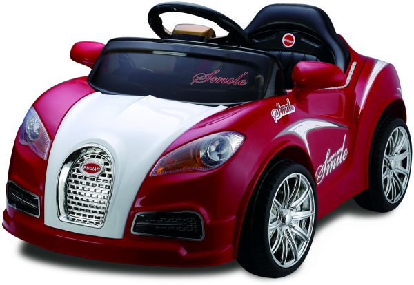 bugatti kids ride on car rechargeable red price review and buy in dubai abu dhabi and rest of. Black Bedroom Furniture Sets. Home Design Ideas