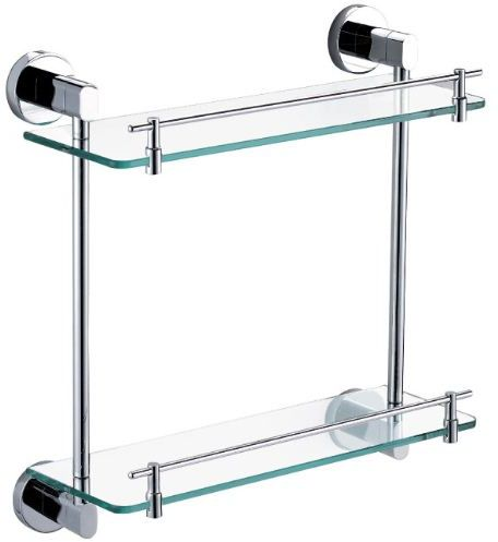 Bathroom Accessories Dubai bathroom double glass shelf, price, review and buy in dubai, abu