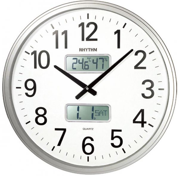 Rhythm CFG709NR19 Wall Clock price review and buy in Dubai Abu