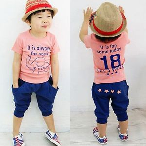 baby guess outlet vgrr  Pink Two Pieces Wear For Boys