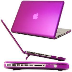 Other Rubberized Shell Matte Hard Case Cover For Macbook Pro 13 inch Purple