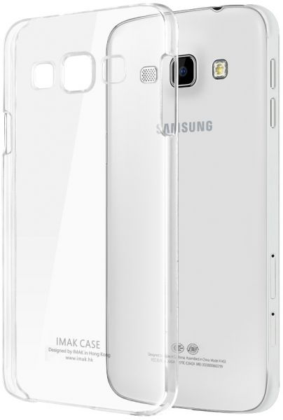 imak Samsung Galaxy A8 Crystal Clear Hard Case Cover With Screen Protector  -Clear
