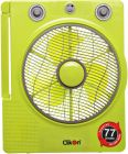 Clikon 12 Rechargeable Emergency Fan with Emergency Lantern - CK2801 (Fan)