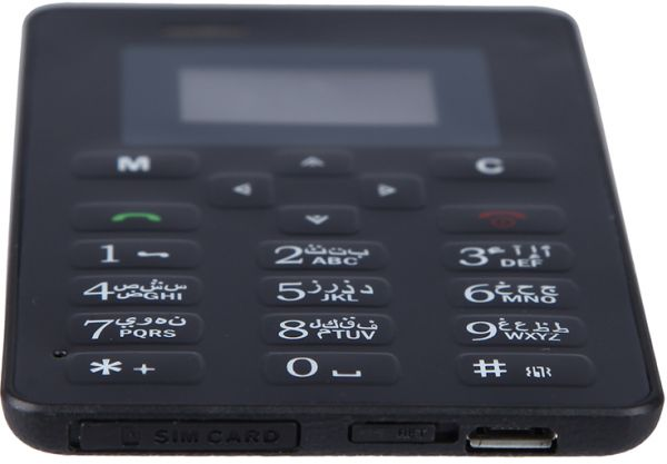 ba892521690 AIEK M5 Mini Pocket GSM Card Mobile Phone - Black