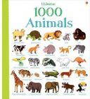 1000 Animals by Jessica Greenwell - Hardcover (Children Book)