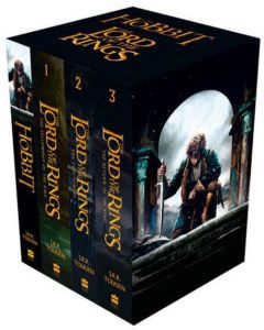 The Hobbit and The Lord of the Rings Boxed Set by J. R. R. Tolkien - Paperback