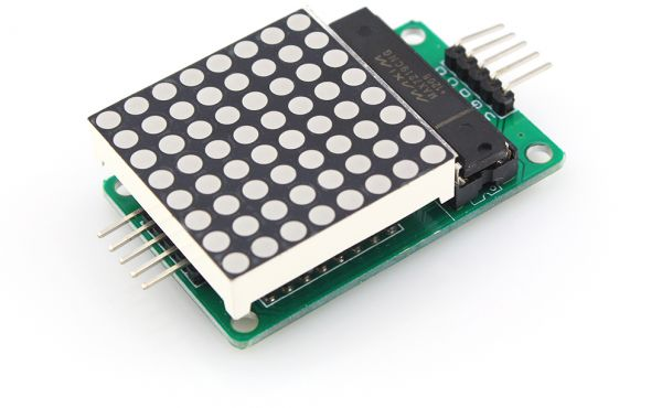 8x8 LED matrix using Arduino Microcontroller