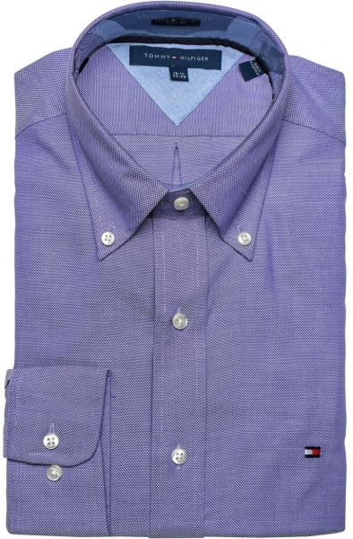 Buy tommy hilfiger slim fit long sleeve dress shirts for for Where to buy dress shirts