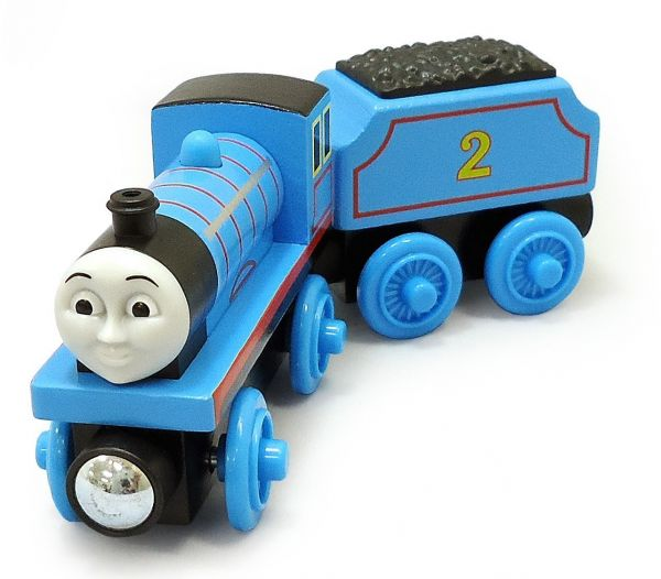Fisher Price Y4071 Thomas Friends Wooden Railway Edward The Blue Engine