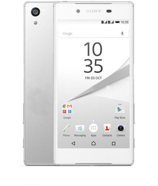 Sony Xperia Z5 Dual Sim - 32GB, 3GB RAM, 4G LTE, White, price, review and  buy in Dubai, Abu Dhabi and rest of United Arab Emirates | Souq.com