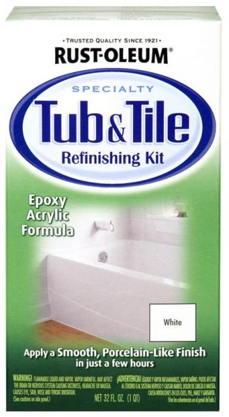 Souq | Rust-Oleum Specialty 7860519 Tub And Tile Refinishing White ...
