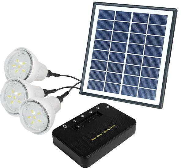 Souq | Solar Home Lighting System – 3 Bulbs | UAE