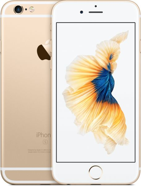 Apple iPhone 6S with FaceTime - 64GB, 4G LTE, Gold