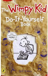 Diary of a Wimpy Kid Do-it-Yourself Book by Jeff Kinney - Paperback