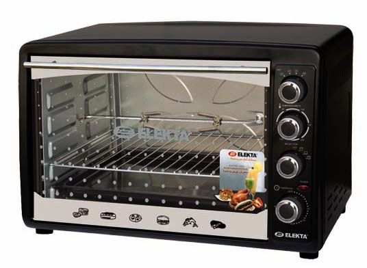 Elekta Electric Oven With Rotisserie And Convection Black Ebro 787cg
