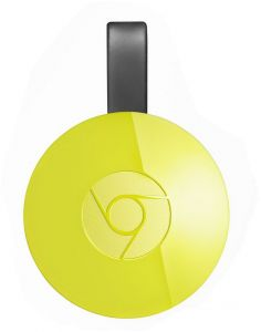 Google Chromecast 2 HDMI Streaming Media Player - Yellow