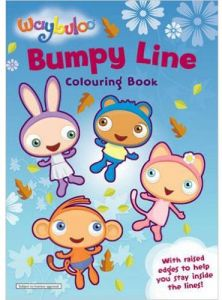 Waybuloo Bumpy Line Colouring Book - Paperback