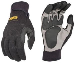 Dewalt Securefit Work Gloves Dpg217l - Black
