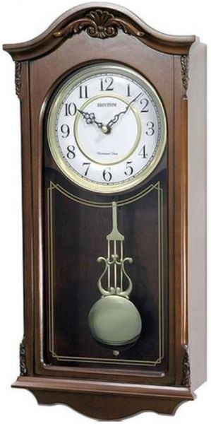 Rhythm CMJ502FR06 Wall Clock Brown price review and buy in