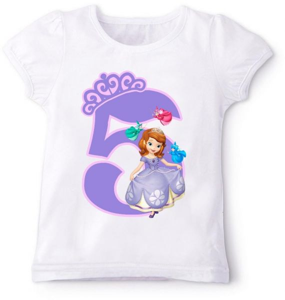 We carry Sofia the First Personalized Birthday t shirts, Party Favors, Stickers, and Invitations. Our designs are Similar to the party theme and are sure to be a big hit at any party! View T-shirt Size Chart.