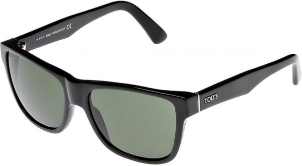 Tods Mens Sunglasses  tods square men s sunglasses black todssun to106 01n 55 14 140