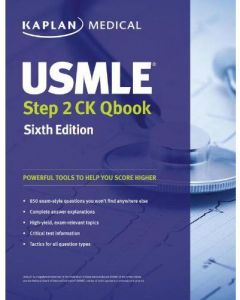 Kaplan USMLE Step 2 CK Qbook, 6th Edition - Paperback