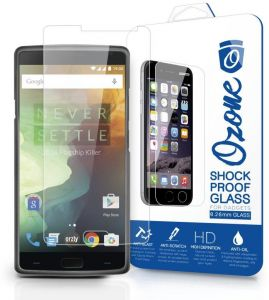 Ozone OnePlus 2 Shock Proof Tempered Glass Screen Protector