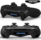 Two Gamer Logo Dualshock 4 Light Bar Decal Skin for PS4 Controller of Playstation 4 (Skin & Decal)