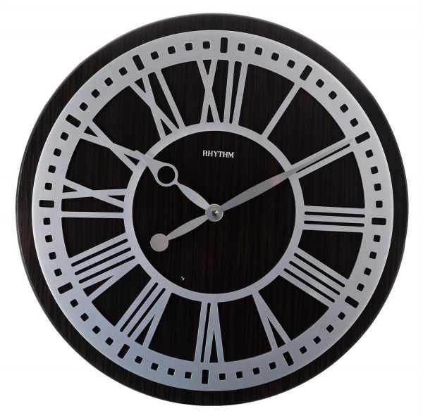 Rhythm CMH745NR06 Wall Clock Brown price review and buy in