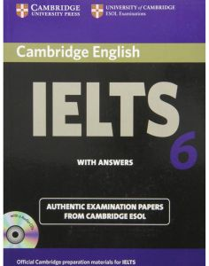 Cambridge English IELTS 6 with Answers Authentic Examination Papers from Cambridge ESOL - Mixed Media