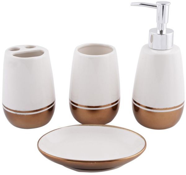 by bathroom accessories