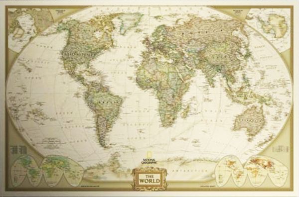 World map poster 72x48cm price review and buy in dubai abu this item is currently out of stock gumiabroncs Image collections
