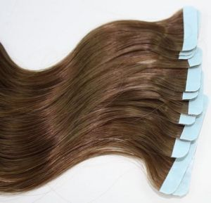 Sale on hair extensions buy hair extensions online at best price natural brown human hair tape extensions 24 inch pmusecretfo Gallery