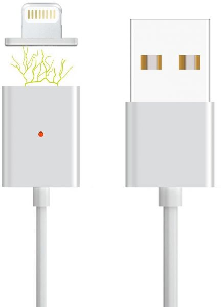 iPhone 6 Magnetic Charging Cable Charger Adapter for iPhone 6/6S With Data  Synq Support