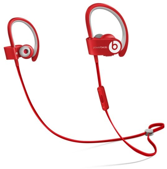Beats by Dr. Dre MHBF2AM A Powerbeats2 Wireless - Red  702eddc823