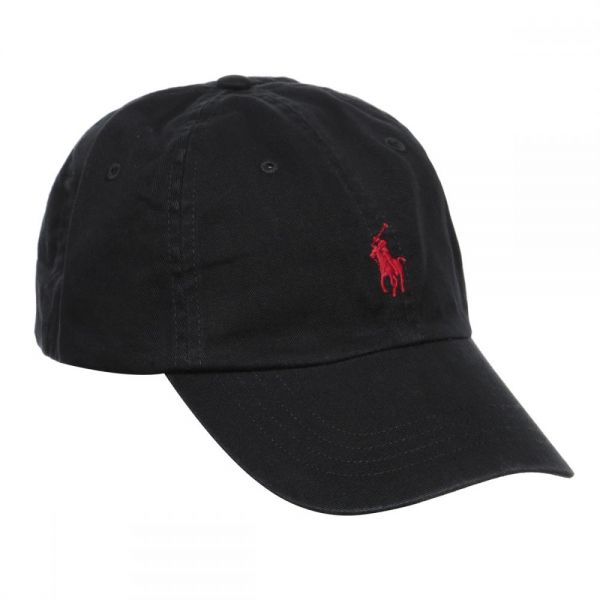 Polo Ralph Lauren Signature Pony Cap with Leather Buckle Strap for ... 143e3d28a6a