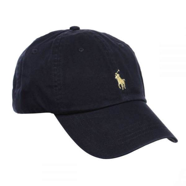 2e76f36b5cc Polo Ralph Lauren Signature Pony Cap with Leather Buckle Strap for ...