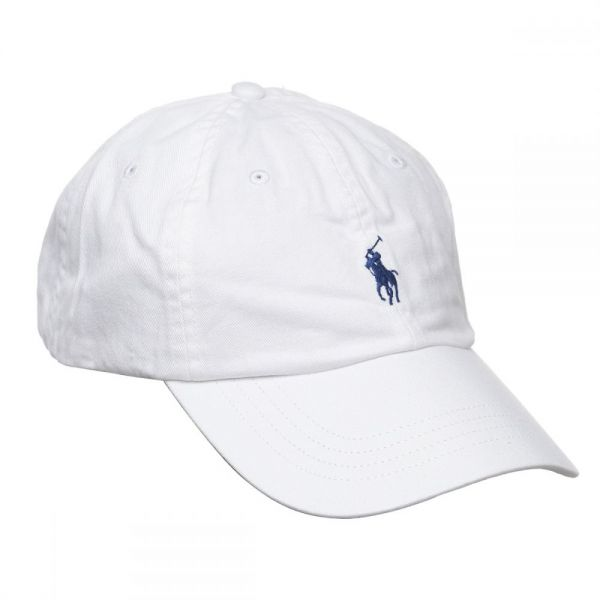 Polo Ralph Lauren Signature Pony Cap with Leather Buckle Strap for ... 0047835a04a
