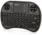 2.4GHz Mini Wireless Keyboard with Touchpad Mouse Combo Black (Keyboard)
