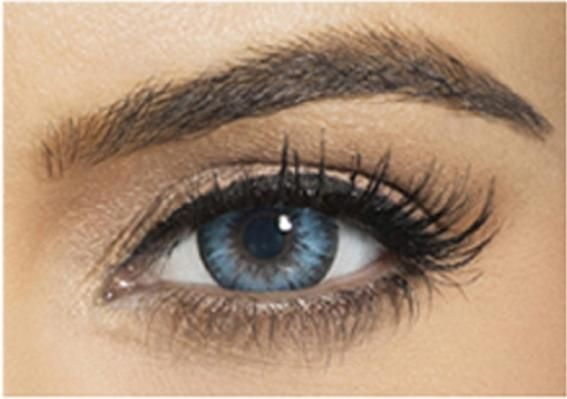 Bella Colored Diamond Collection Cosmetic Contact Lenses - Pacific Blue