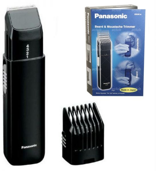 panasonic er240bp beard trimmer black price review and. Black Bedroom Furniture Sets. Home Design Ideas