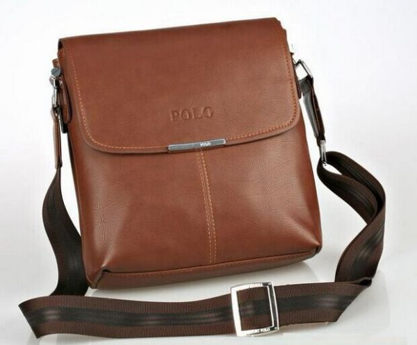 FANKE Polo BY-24 Business Style for Messenger Bag Briefcase for Men -  Leather 95215d8a41fee