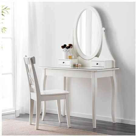 souq dressing table with mirror white uae. Black Bedroom Furniture Sets. Home Design Ideas