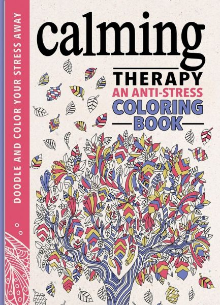 Calming Therapy An Anti Stress Coloring Book Review And