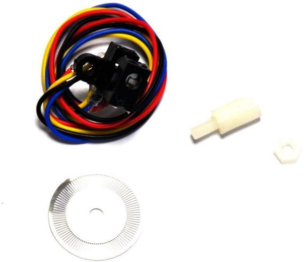 Photoelectric Speed Sensor Encoder Coded Disc code wheel for Freescale  Smart car arduino