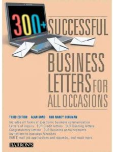 300+ Successful Business Letters for All Occasions by Alan Bond - Paperback