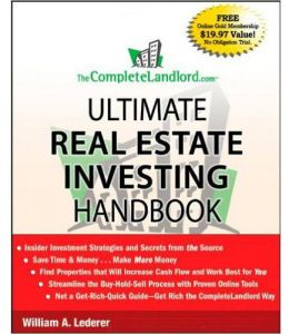 Ultimate Real Estate Investing Handbook by William A. Lederer - Paperback