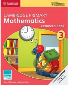 Cambridge Primary Mathematics Learner's Book 3 by Cherri Moseley - Paperback
