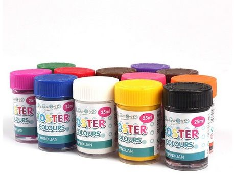 Poster Color Paint Set 12PCS, price, review and buy in Dubai, Abu ...