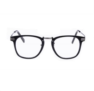 5c7fb03cb3a Unisex Fashion Big Box Optical Glasses Spectacles Metal Frame Glasses